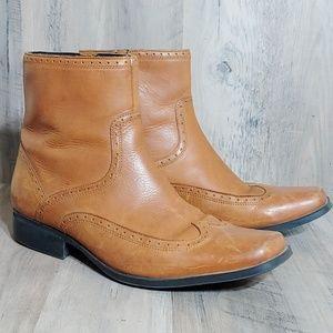 Rockport Dalari Wingtip Brown Boots Men's